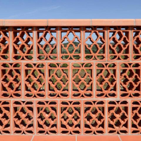 Terracotta Brise Soleil
