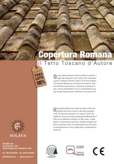 Malvasia and Riserva Roof Tiles