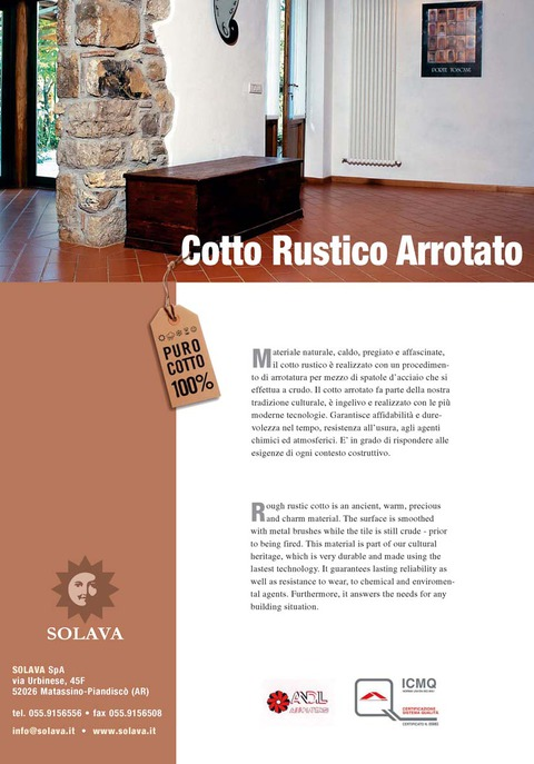 Rustic Cotto